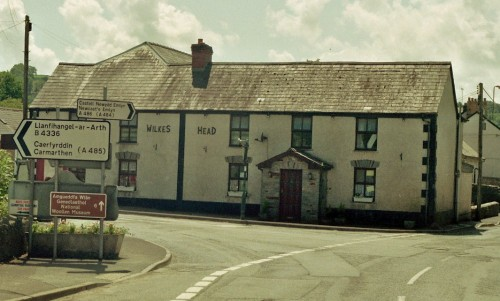 �The Wilkes Head, Llandysul, scene of the preliminary inquiry into the case by the Justices of the Peace (c) RWI
